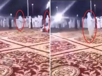 "شاهد بالفيديو : والد عريس يطرد شاباً أطلق النار في حفل زفاف ابنه بـ""نجران"""