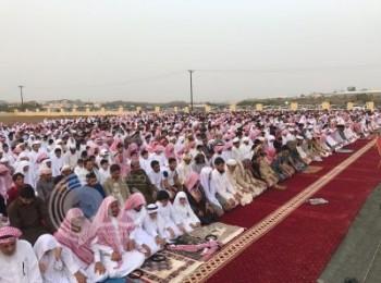 ٦٤٧ مُصلى وجامعاً لأداء صلاة عيد الفطر في جازان والصلاة 5:55 صباحاً