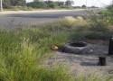 مواطن يُوثّق بالفيديو : غُرف تفتيش مكشوفة على أحد الطرق الرئيسية بمركز الحقو تُنذر بكارثة