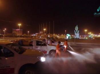 أمين جازان : نواجه كورونا بــ13930 جولة رقابية وتطهير أكثر من 3000 موقع