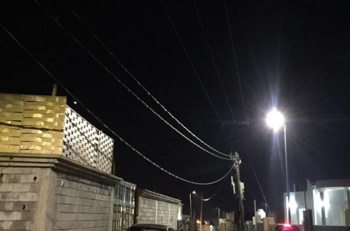 《صوت المواطن》| مركز الحقو : مواطنون يرصدون سقوط احد أسلاك الكهرباء وإنقطاع الإنارة عن طريق الحقو – المحله