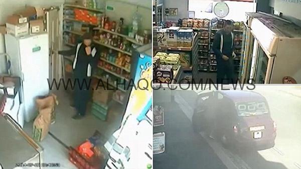 فيديو: لص يفشل في سرقة بنك فيقوم بأسوأ عملية سطو مسلح على متجر