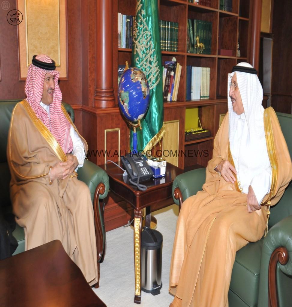 أمير جازان يستقبل سمو رئيس الهيئة العامة للسياحة والآثار