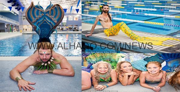 صور: 300 امرأة ورجل يتحولون لعرائس البحر