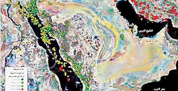 زلزال جازان شائعة ولا يستند لمعلومات علمية دقيقة