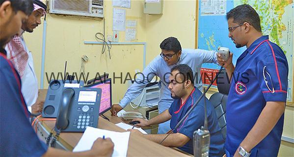 ساعة استنفار في الهلال الأحمر بجازان … 17 بلاغاً لـ 16 حادثاً