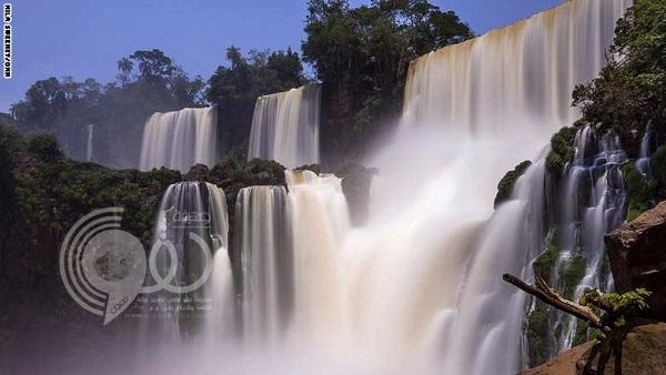 صور: شلالات إغوازو إحدى عجائب الطبيعة الخلابة