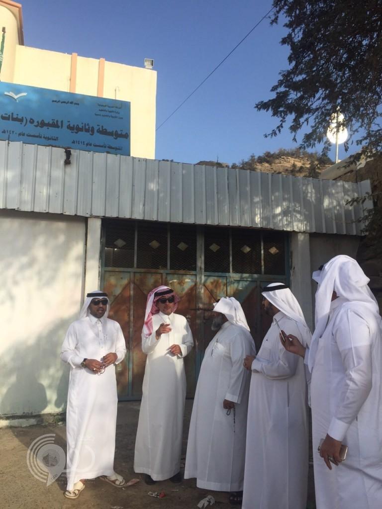 وزير التعليم يتفقد عدد من المدارس الحدودية .. صور