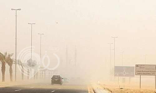 الأرصاد تحذر: موجة غبار تضرب جازان مساء اليوم