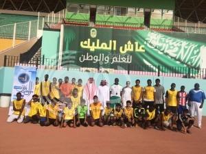 مساعد تعليم صبيا يزور المعسكر الرياضي ويشيد بجهود النشاط الرياضي