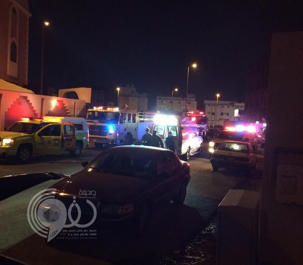 مصرع شخصين وإصابة آخرين في حريق شقة بمكة
