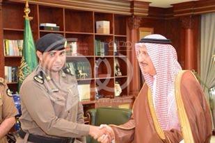 أمير المنطقة يقلد مدير الأمن بشرطة محافظة أبو عريش رتبته الجديدة