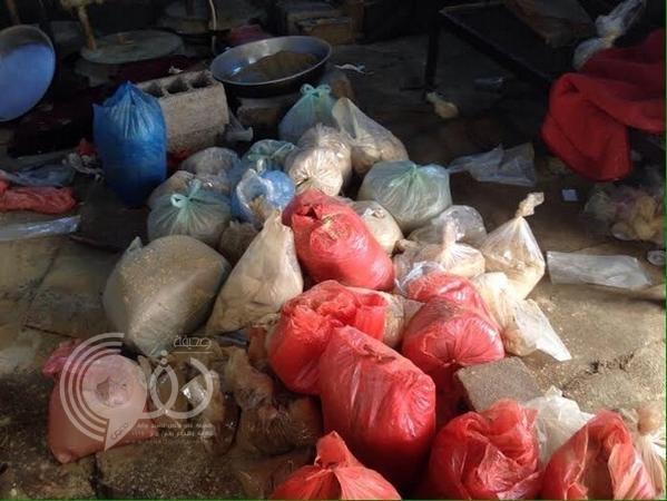 شرطة جازان تضبط كميات من الشمة في أبو عريش