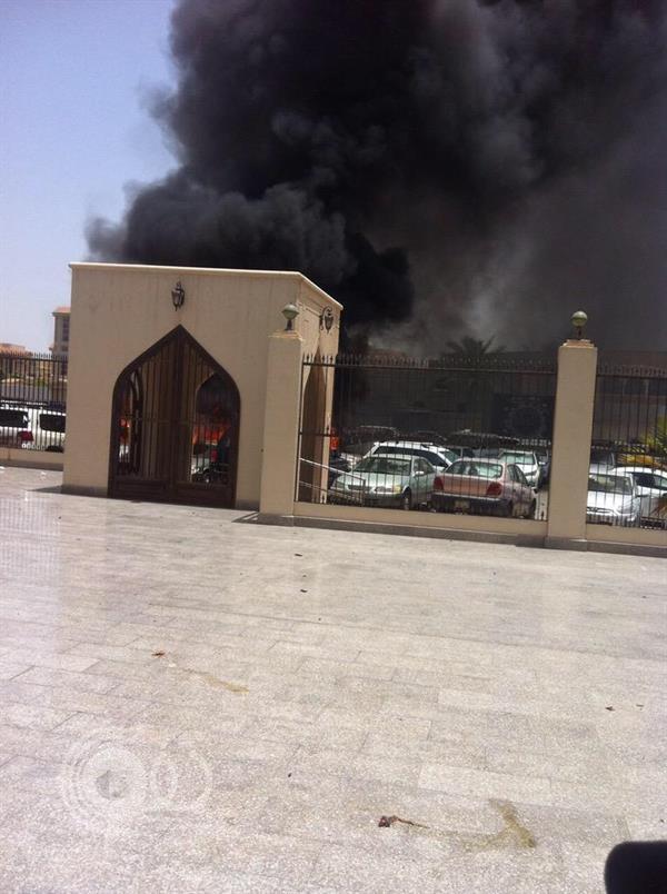 """تنظيم داعش يتنبى تفجير """"جامع العنود"""" ويعلن هوية منفذ العملية"""