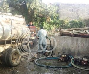 بلدية هروب تعترف: مياه الآبار ملوثة بالصرف الصحي