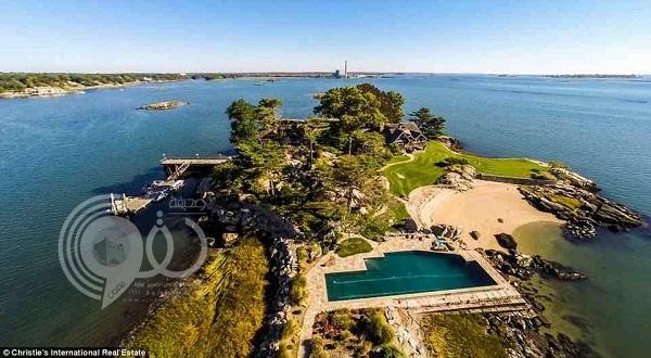 صور: قصر على جزيرة خاصة ويطل على مدينة نيويورك بـ 11 مليون دولار