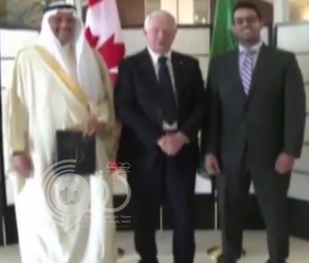 بالفيديو.. الحاكم الكندي يكرم 3 علماء سعوديين بسفارة المملكة في أوتاوا