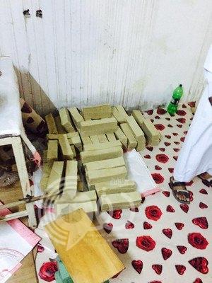 """مداهمة محل لبيع المعجّنات تديره عمالة وافدة بـ""""أبو عريش"""""""