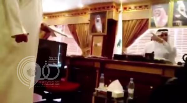 فيديو: طرد مدير صحة نجران لمواطنة يشعل تويتر