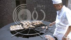 بالصور.. مطعم فوق بركان يطهي طعامه في 450 درجة مئوية