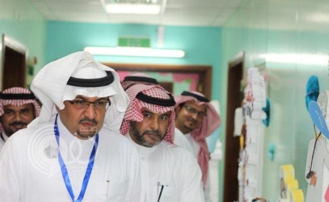 """مدير مستشفى """"أحد المسارحة"""" يفتتح  فعاليات يوم التمريض الخليجي"""