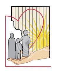 """""""تراحم"""" توزع سلالاً رمضانية وأجهزة تكييف على أسر السجناء بجازان"""