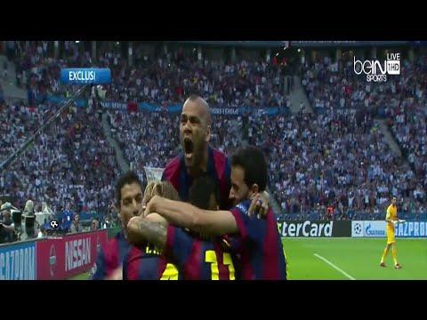 بالفيديو : برشلونة بطلاً لدوري أبطال أوروبا للمرة الخامسة في تاريخه