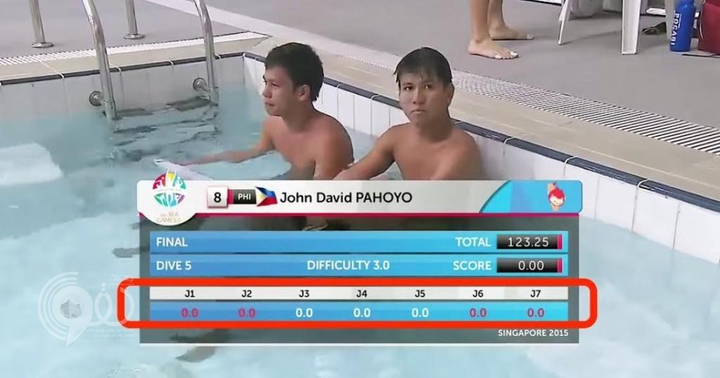 فيديو أفشل قفزتين لسباحين من الفلبين يحصد أكثر من 14 مليون مشاهدة