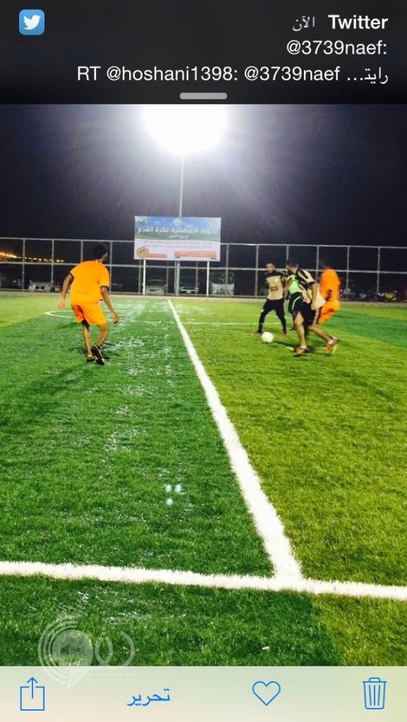 فريق العيدابي يسحق فريق الحبيل بأربعة اهداف ضمن بطولة الملتقى بمركز الحقو