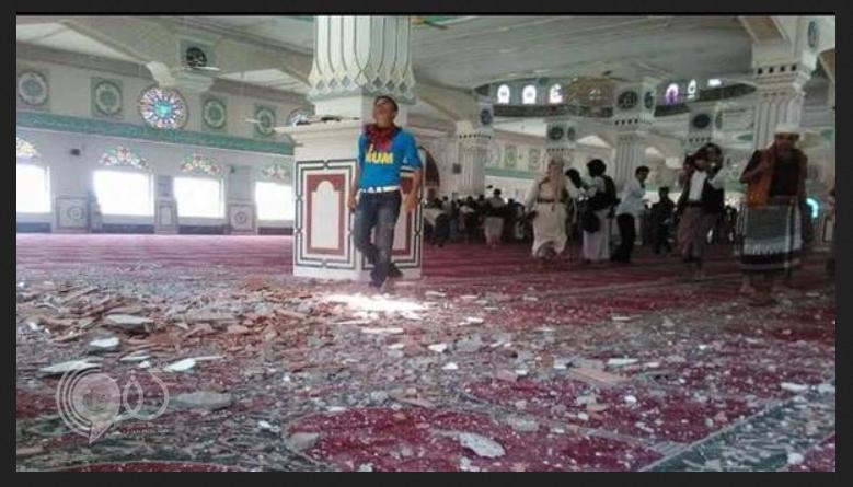 الحوثيون يقصفون المساجد في تعز أثناء صلاة الجمعة وسقوط شهداء وجرحى