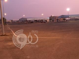 أهالي مركز الحقو يؤدون صلاة العيد بـ ساحة السوق