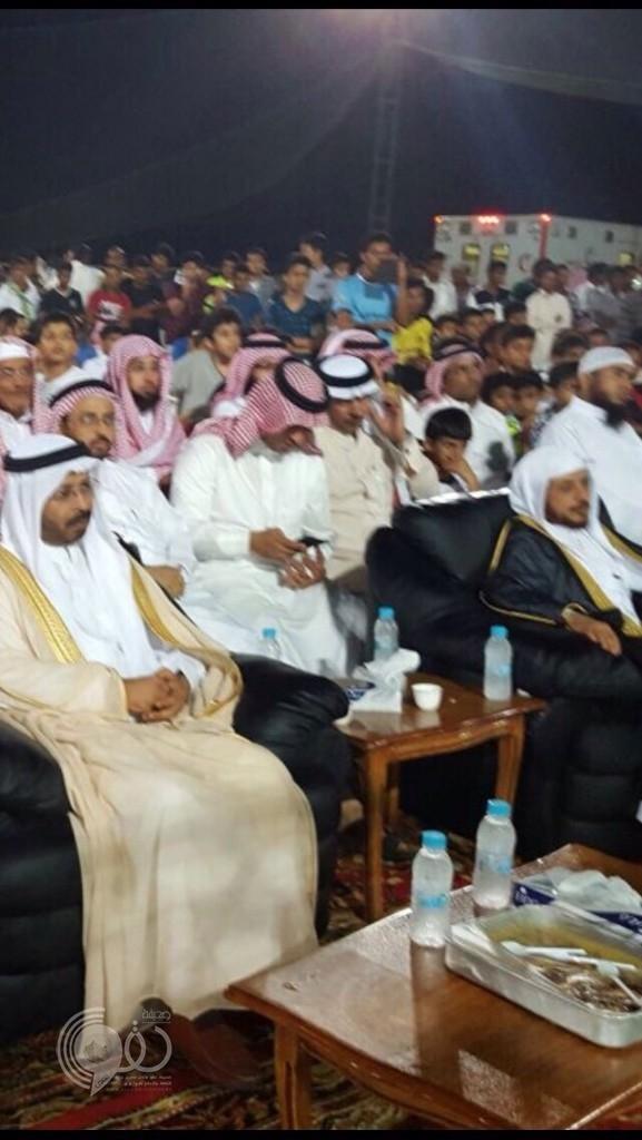 """(صور) : """"الظبية"""" تقيم احتفالات العيد بحضور محافظ صبيا ومدير تنمية جازان"""