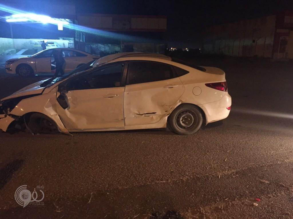 """""""سالم يحي غازي"""" يتعرض لحادث مروري"""