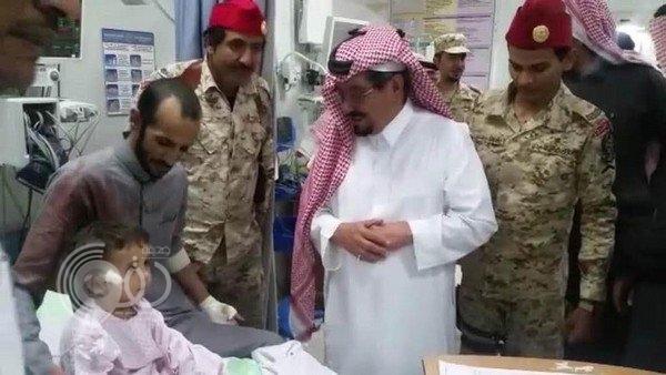 نجران.. إصابة طفل نتيجة سقوط مقذوف عسكري من اليمن