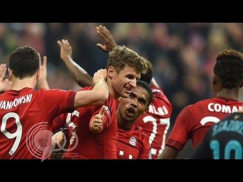 بالفيديو:بايرن ميونيخ يسحق أرسنال بخماسية في دوري أبطال أوروبا