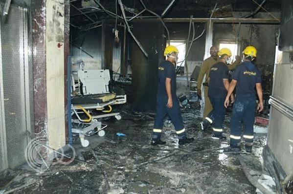 """تفاصيل من موقع """"كارثة جازان"""": النيران بدأت بحضانة الأطفال و132 متوفىً ومصاباً في حصيلة أولية"""
