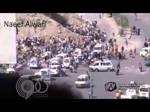 بالفيديو: عبث الحوثيين بحياة اليمنيين وإطلاق النار بشكل عشوائي على الأطفال