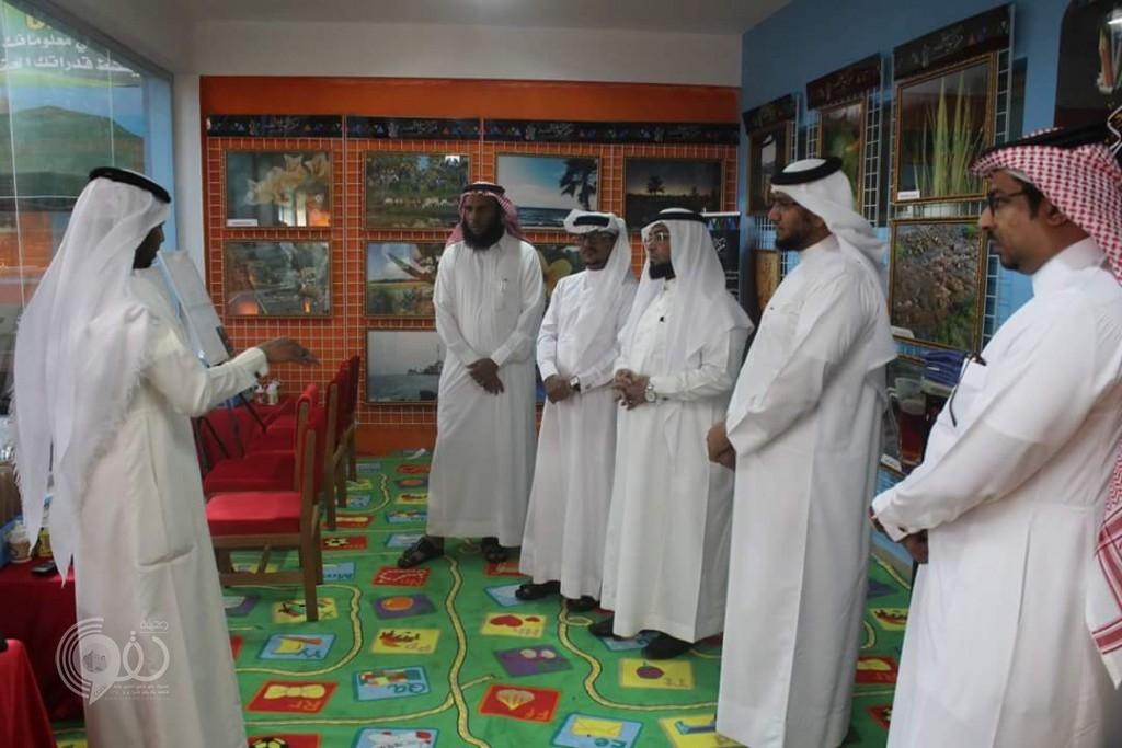 مدرسة أنس بن مالك ببيش تكرم المعلمين المتميزين والطلاب المتفوقين