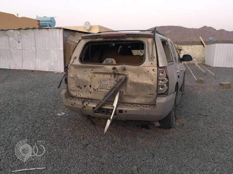 استشهاد طفل وإصابة تسعة آخرين من عائلة واحدة إثر سقوط مقذوف حوثى بنجران