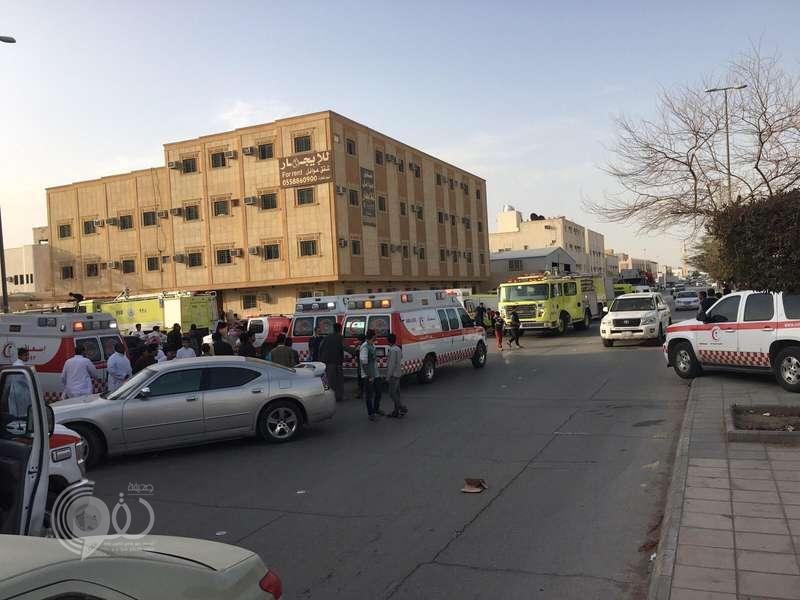 مصرع طفلين وإصابة 7 أشخاص في حريق منزل بالرياض