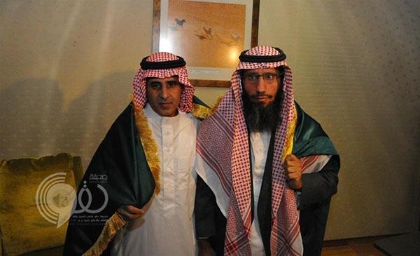 فيديو: ماذا قال المختطفان الشراري والغامدي لدى وصولهما الرياض؟