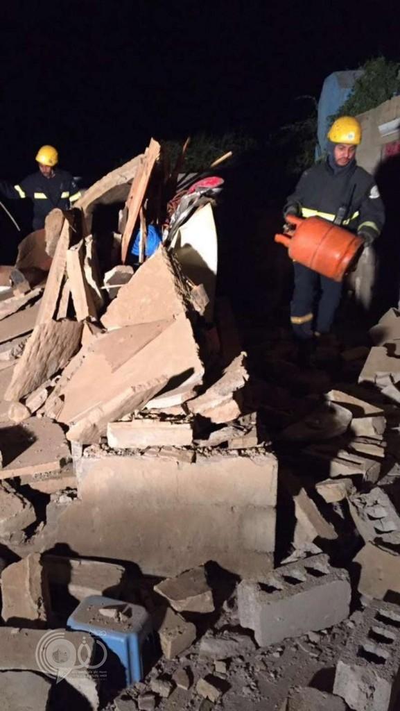 إصابة فتاة في أبو عريش إثر انفجار أسطوانة غاز