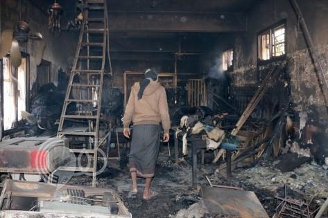 بالفيديو والصور: الحوثيون يدمرون أثمن كنز في تعز