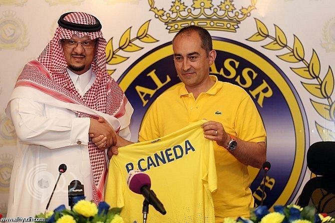 رسمياً.. النصر يتعاقد مع المدرب الإسباني كانيدا