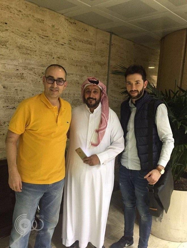 مدرب النصر كانيدا يصل لمطار الملك خالد الدولي بالرياض