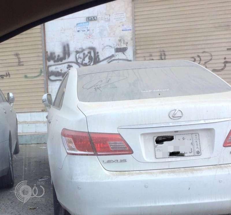 شرطة بيش تعثر على السيارة التي كاد سارقها أن ينهي حياة صاحبها