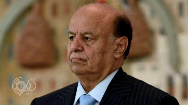 """""""هادي"""" يعلن قبول ميليشا الحوثي تنفيذ قرار مجلس الأمن 2216"""