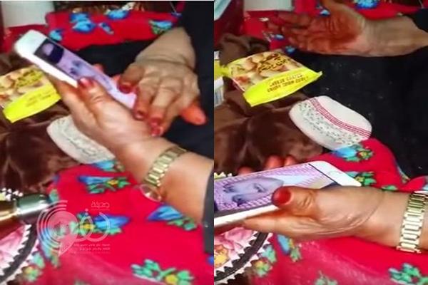 """شاهد دعوات إمرأة مسنة لسمو ولي العهد الأمير محمد بن نايف .. """"فيديو"""""""