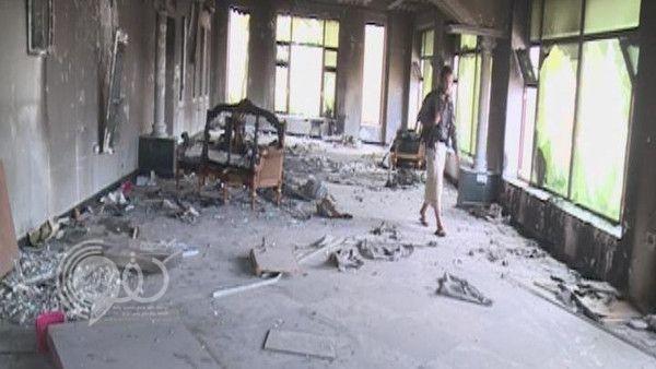 فيديو: جولة في منزل المخلوع صالح في حي الجحملية بـ تعز