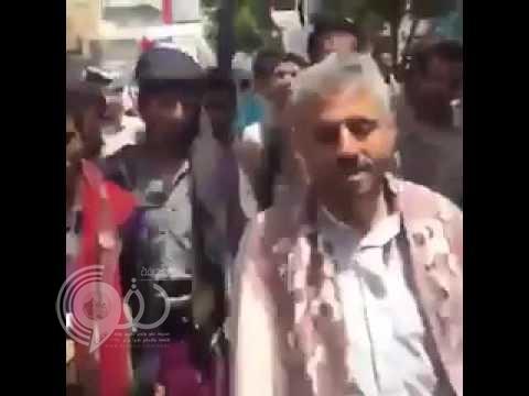 """بالفيديو: مسيرة حاشدة في تعز تهتف..""""شكراً شكراً يا سلمان"""""""